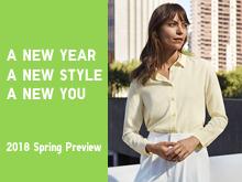 2018 Spring Preview 특집페이지의 대표이미지