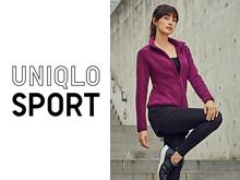 UNIQLO SPORT 특집페이지의 대표이미지