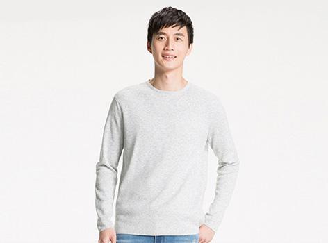 밀라노 립 크루넥 스웨터 (긴팔)