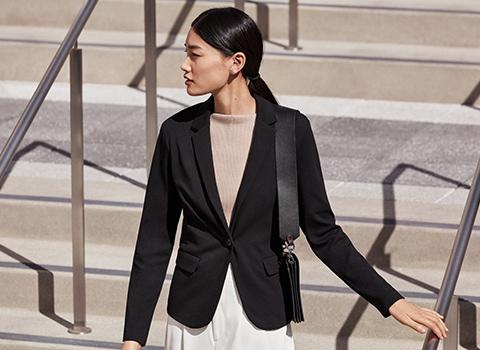 UV CUT 재킷 착용모델 사진