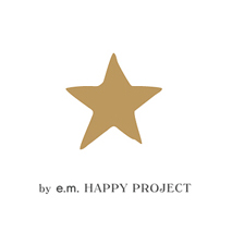 e.m.HAPPY PROJECT 로고 이미지