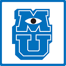 MONSTERS UNIVERSITY 로고 이미지