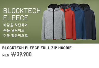 WOMEN BLOCKTECH FLEECE FULL ZIP HOODIE