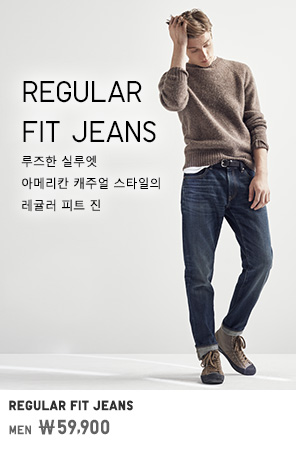 MEN REGULAR FIT JEANS 59,900원