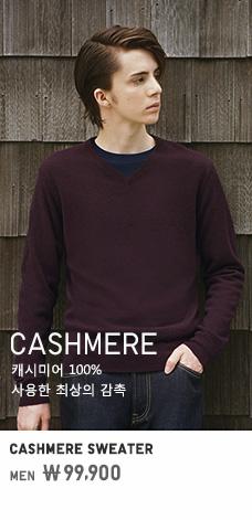 MEN CASHMERE SWEATER 99,900원