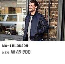 MEN MA-1 BLOUSON 49,900원