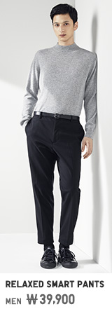 MEN RELAXED SMART PANTS