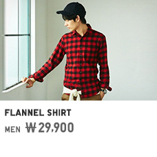 MEN FLANNEL SHIRT 29,900원