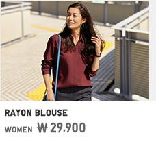 WOMEN RAYON BLOUSE 29,900원