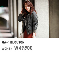 WOMEN MA-1 BLOUSON