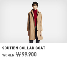 WOMEN COUTIEN COLLAR COAT