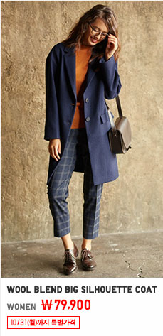 WOMEN WOOL BLEND COAT 10/31까지 79,900원부터