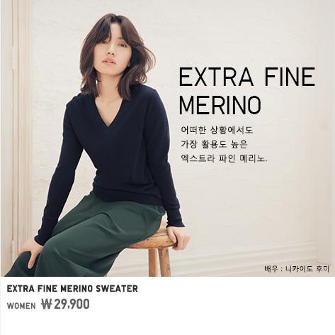 WOMEN EXTRA FINE MERINO SWEATER