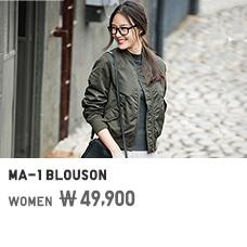WOMEN MA-1 BLOUSON 49,900원