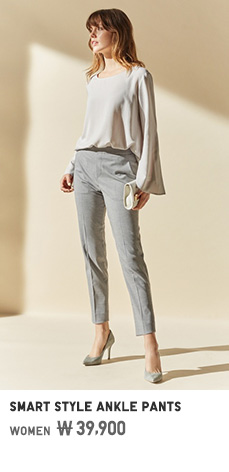 WOMEN SMART STYLE ANKLE PANTS 39,900원