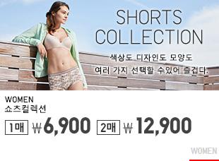 WOMEN SHORTS 5/4까지 2매 9,900원