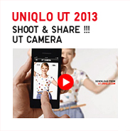 UNIQLO UT 2013 TVCM SHOOT & SHARE !!! UT CAMERA-새창열림
