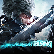 METAL GEAR RISING 로고 이미지