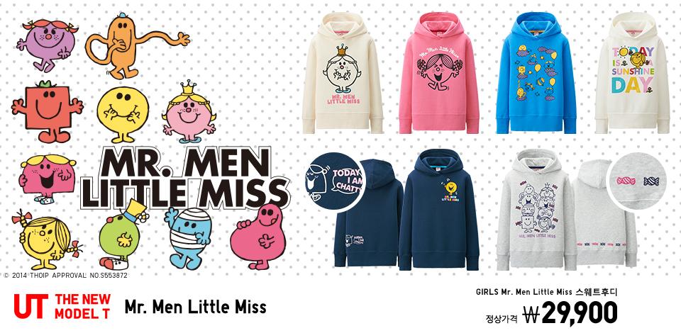 KIDS UT Mr. Men Little Miss. GIRLS Mr. Men Little Miss 스웨트후디 정상가격 29,900원
