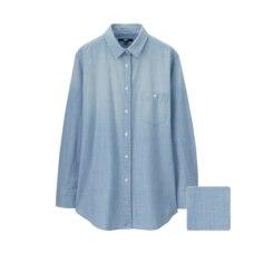 데님롱셔츠(긴팔)